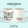 How Sweet It Is To Serve Jehovah With You Mug   Personalized JW Mug   JW Gifts