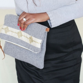 THE FELT CROSSBODY BAG