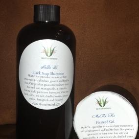 Natural Shampoo and Gel