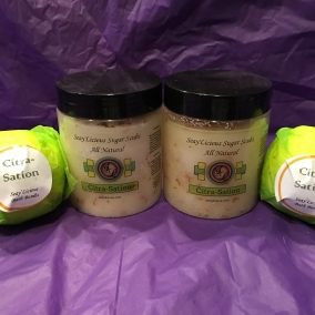 Citra-Sation Sugar Scrub