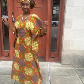 Apunda (One who is beside herself) African Kaftan KE113