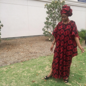 Amara (Elegance, Grace) African Kaftan Ensemble KE114