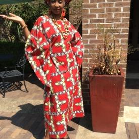 Ayo (Full of Joy) Petite African Kaftan KE120