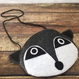 Children's and Toddler Raccoon Purse