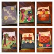 Child's personalised quiet book