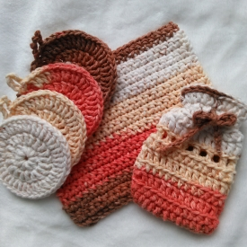Crochet spa set
