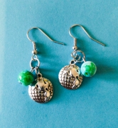 Into All the Earth Earrings