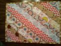 6 quilted placemats