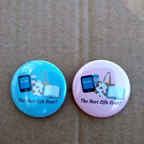 The Best Life Ever Pin