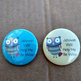 Jehovah will help me be wise pin – JW gift, youth, wisdom
