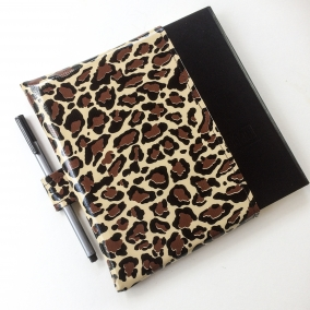 Leuchtturm 1917 Slip In Oilcloth Bullet Journal Cover – Leopard Skin Pattern – FREE SHIPPING ON ALL ITEMS!
