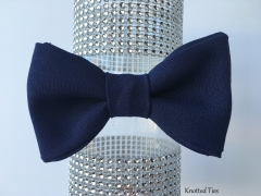 Navy Blue Bow Tie, Wedding Bow Tie, Boys Bowtie, Mens Gift