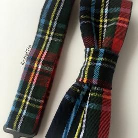 Plaid Boy's Bow Tie, Pre-Tied Bow Tie, Baby Bow Tie
