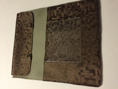 """Brown/Sage """"Holds-It-All"""" Service Pouch"""