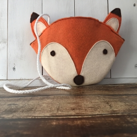 Toddler Fox Face Purse