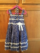 Bonnie Jean Sz 6 Dress with Handcrafted Accessories $49 + $4.95 shipping