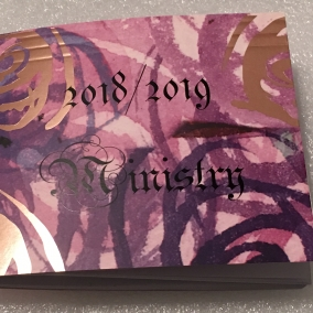 2018/2019 Ministry Notes
