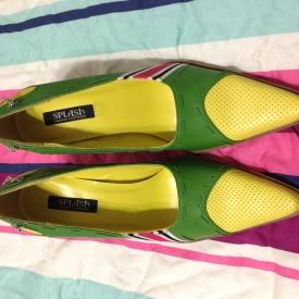 NWOT Splash pointed high heels size 6.5