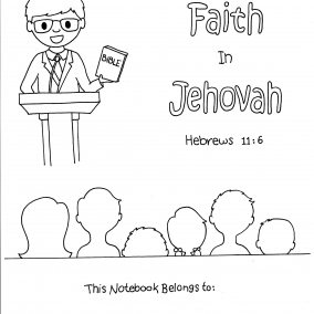 Increase Your Faith In Jehovah Circuit Assembly Childrens Activity Notebook – Instant PDF Download