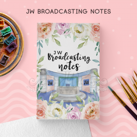 JW Broadcasting Notebook [ 92 Pgs ] (For Sisters)