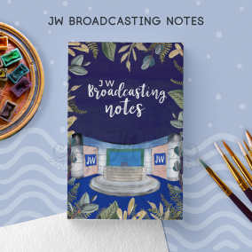 JW Broadcasting Notebook (Masculine) | JW Gifts