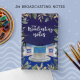 JW Broadcasting Notebook (Masculine) | JW Gifts