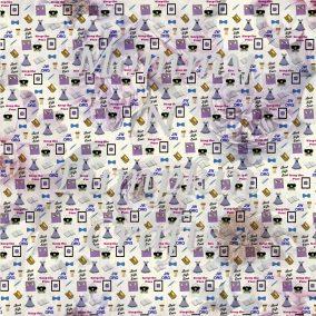 JW Pioneer Pattern Paper Purple Foral copy