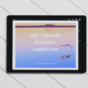 Loyal Love Comfort – Digital Card
