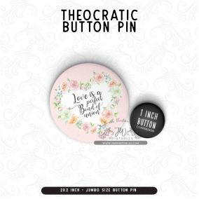 Perfect Bond of Union – JUMBO Button Pin