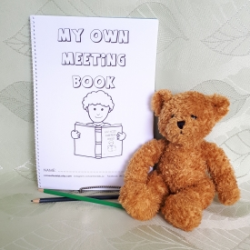 Kids My Own Meeting Book for 2-6yo