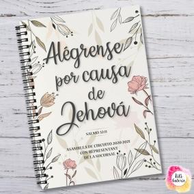 Cuaderno Asamblea del Circuito 2020-2021 – Descargar archivo A5 – Alégrense por causa de Jehová