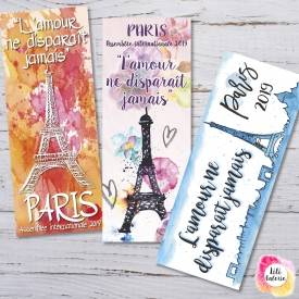 3 Bookmarks Paris international Convention 2019 (french title) – Printable file