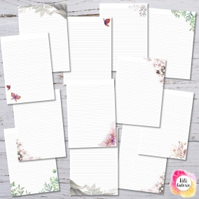 12 Printable Letter Writing Sheets