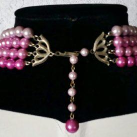 Magenta Necklace 3