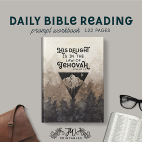 Daily Bible Reading (Masculine) – Notebook | JW Gifts