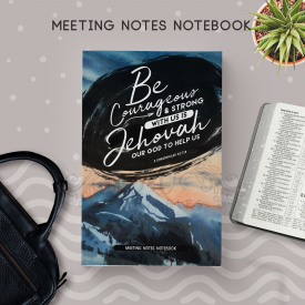 Meeting Notes Notebook [ 180 Pgs ] (For Brothers)