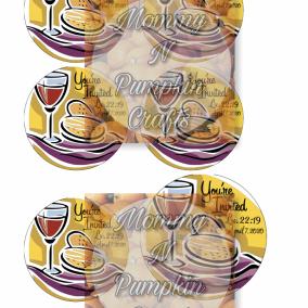 Memorial Stickers - Date Logo