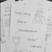 Memorial Activity Notebook