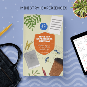 Ministry Experience Notebook [ 90 Pgs ]