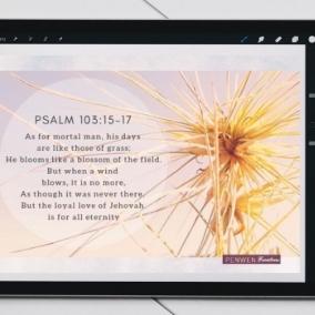 Loyal Love, Quoting Psalm 103:15 – Digital Card
