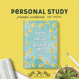 Personal Study Notebook | JW Gifts