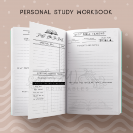 Personal Study Notebook - JWPrintables