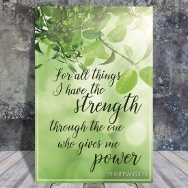 Philippians 4:13 – Scripture quote digital printable
