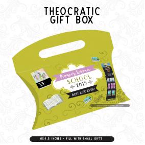 Pioneer School Graduate – JW Gift Box With Handle
