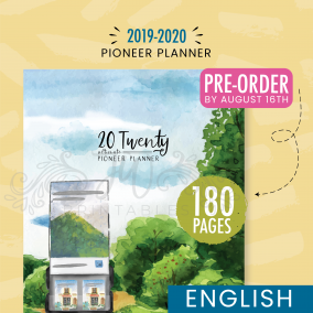 2019-2020 Ultimate Pioneer Planner (Pre-Order by Aug 18th)