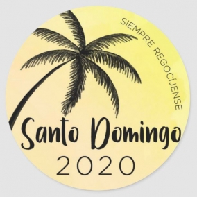 Always Rejoice – Santo Domingo Stickers SPANISH