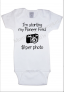 JW Pioneer Fund White Baby Body Suit