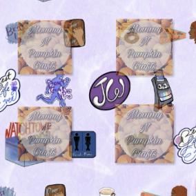 Best Life Ever Pattern Paper Purple Close Up