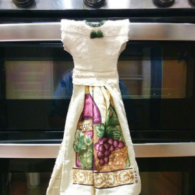 Decorative Dress Towel