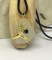 Save the Whales! Frosty White Sea Glass Necklace and Earrings with Swarovski Crystals